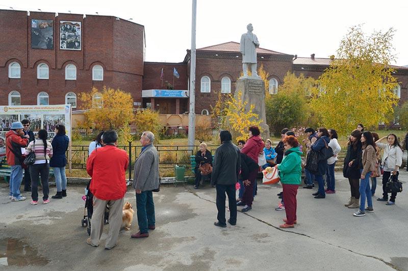 Сбор возле музея им. Ярославского