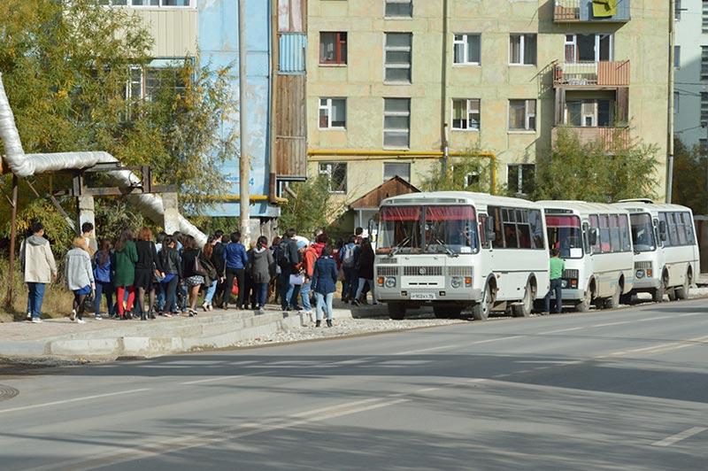 Садимся в автобус