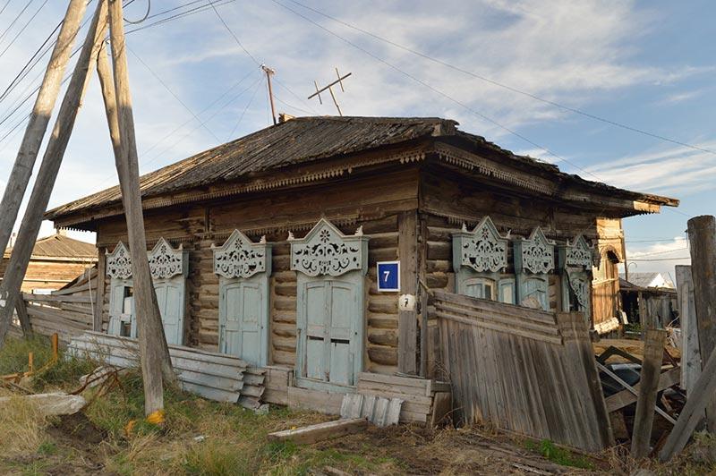 Украшения старых домов
