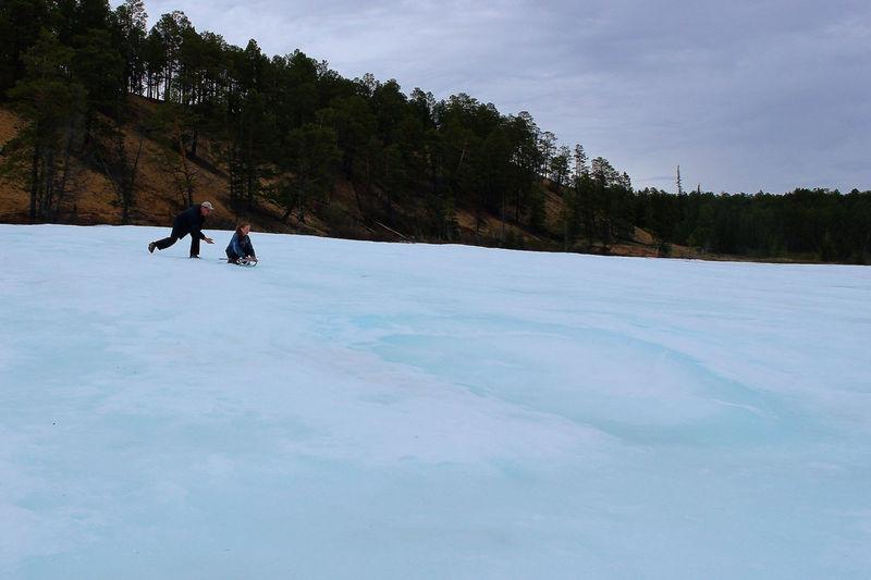 Чистейший лед Булууса