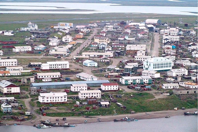 Поселок Чокурдах