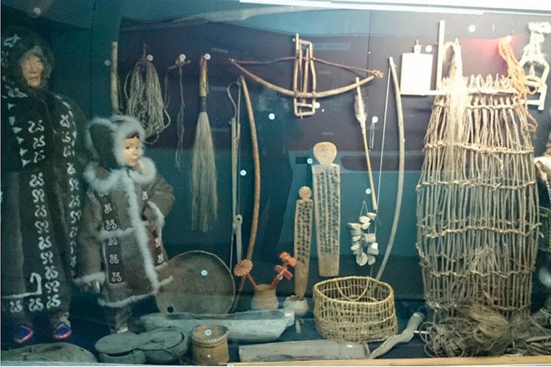 Экспонаты музея Чокурдах