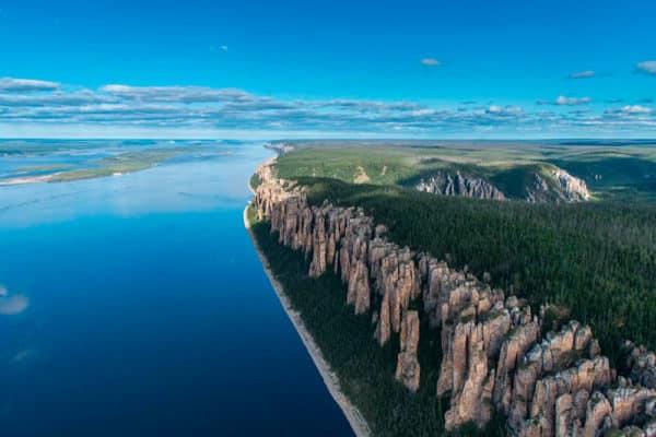 Девственная красота реки Лена