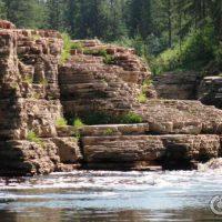 Водопады Курулуур — отличное место для отдыха