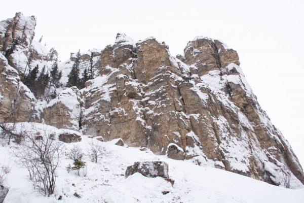 Вид на Ленские столбы