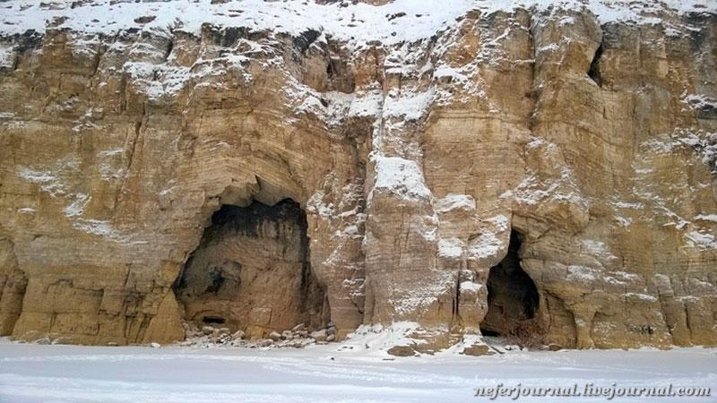 Необычные скалы реки Лена