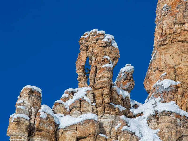 Ленские столбы зимой