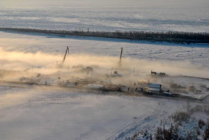 Пролетая над Якутском