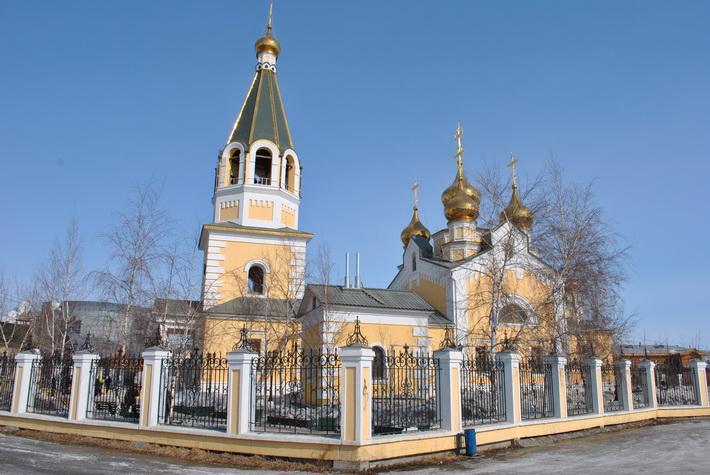 Церковь в Якутске
