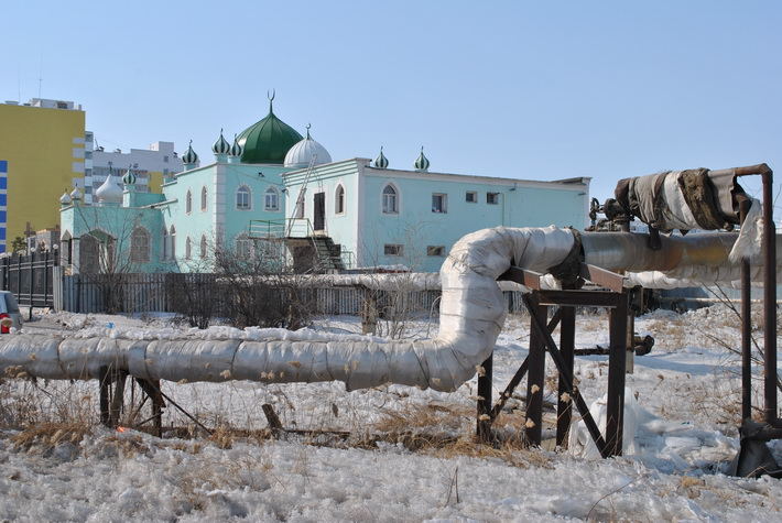 Мечеть в Якутске