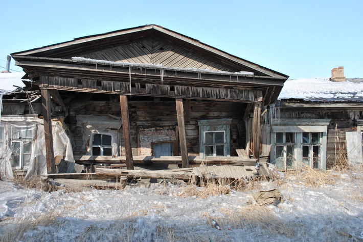 Старый дом в Якутске