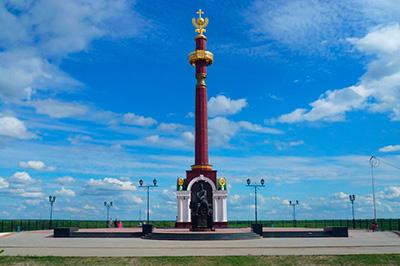 Памятник П.И. Бекетову в Якутске