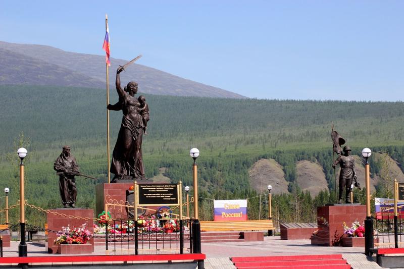 Мемориальный комплекс, посвященный 70-летию Великой Победы