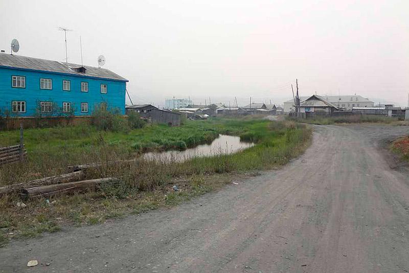 Дороги в Усть-Нере