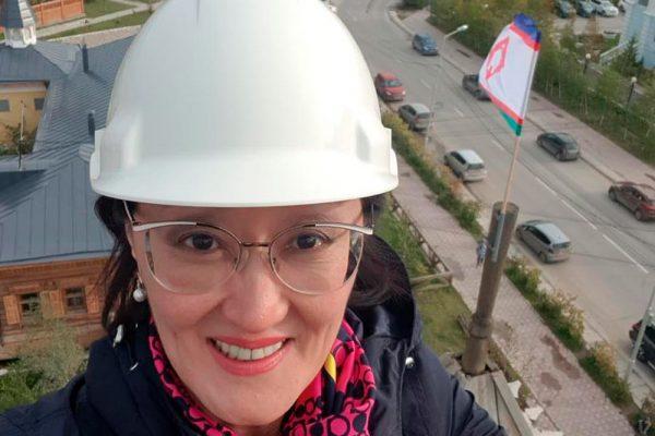 Сардана Авксентьева в инстаграме