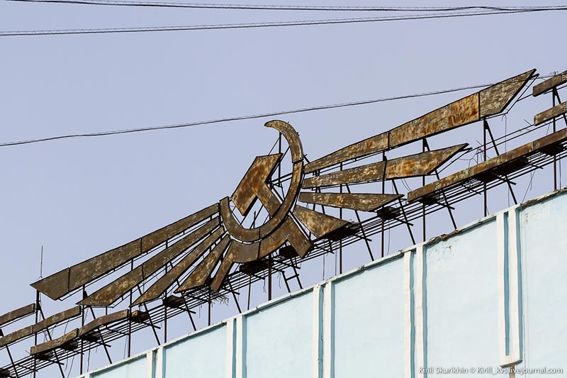 Здание Якутского управления гражданской авиации