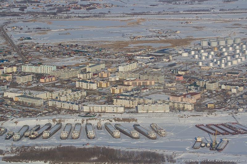 Якутск сверху