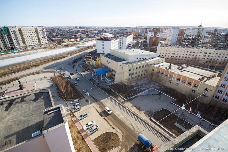 Перекрёсток улиц Белинского и Кулаковского