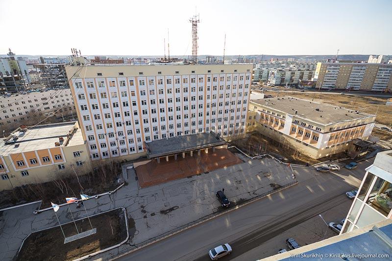 Учебно-лабораторный корпус Северо-Восточного Федерального университета имени М.К. Аммосова
