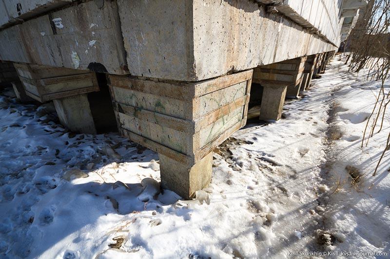 Сваи в Якутске