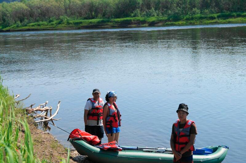 Сплав по реке Буотама