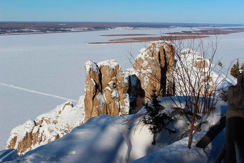 Вид с Ленских столбов