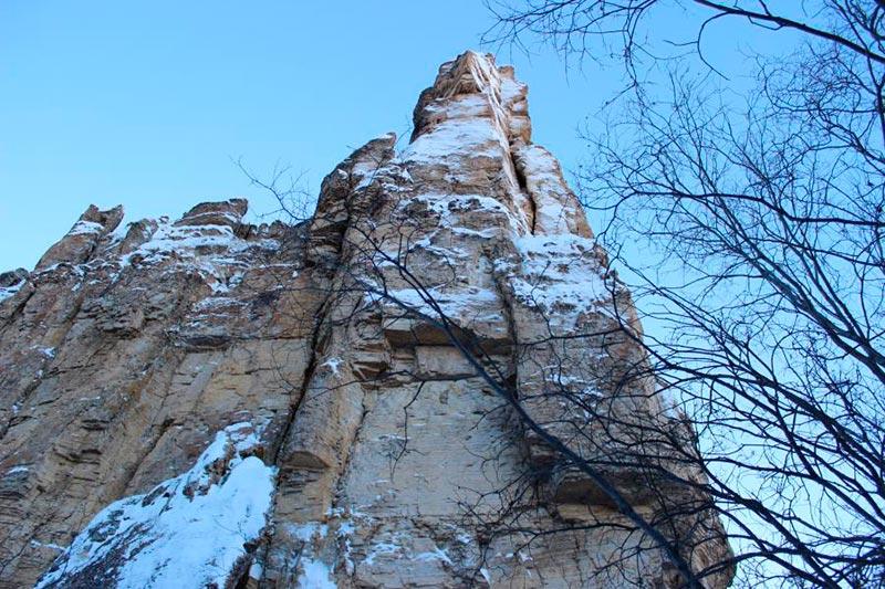 Зимние Ленские столбы