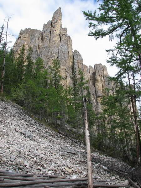 Высота Ленских столбов