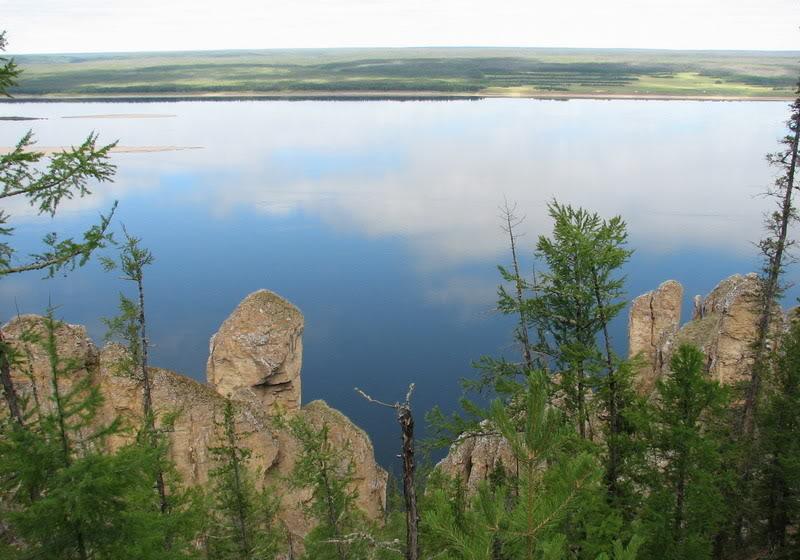 Пейзаж Ленских столбов