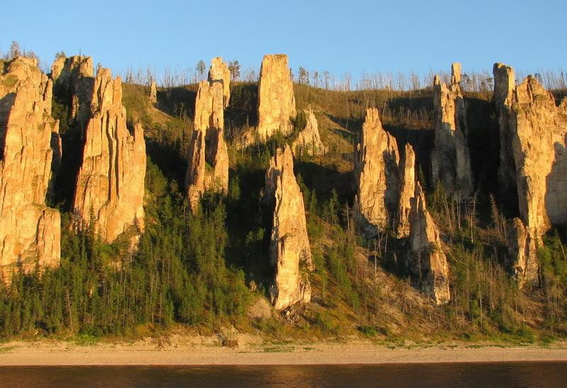 Необычные Ленские столбы