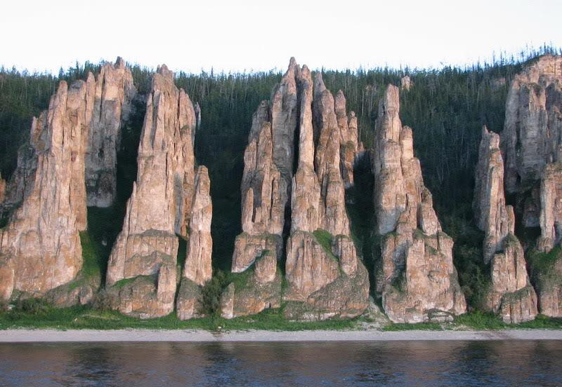 Оттенки Ленских столбов