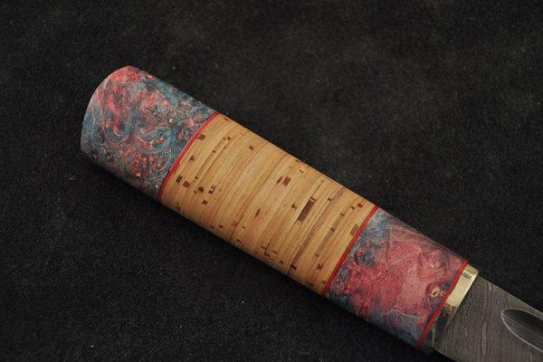 Уникальная рукоять якутского ножа
