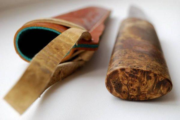 Красивая рукоять якутского ножа