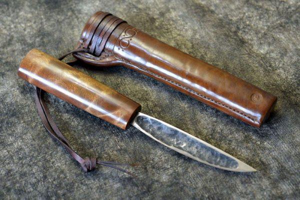 Настоящий якутский нож