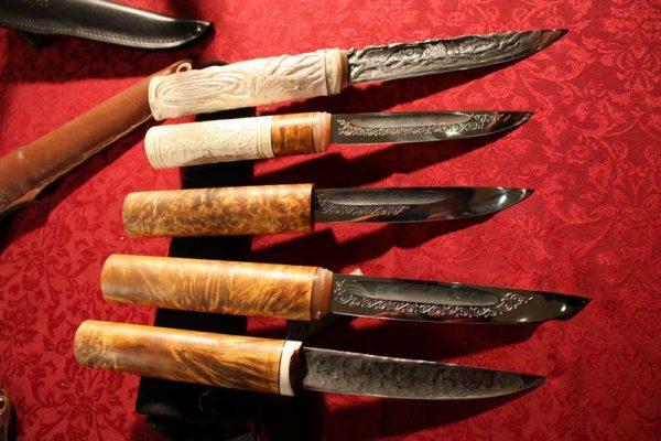 Самые красивые якутские ножи