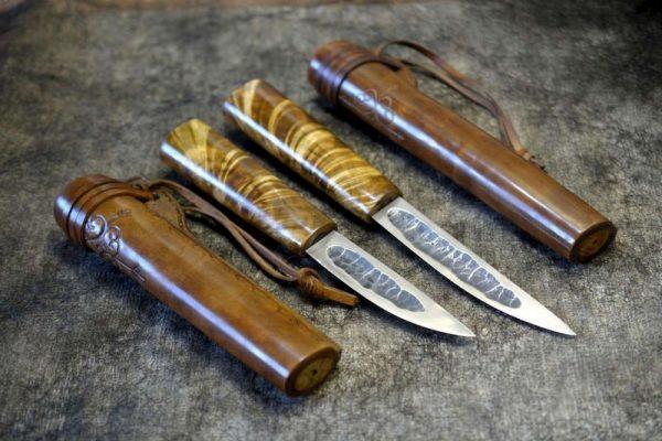 Пара якутских ножей